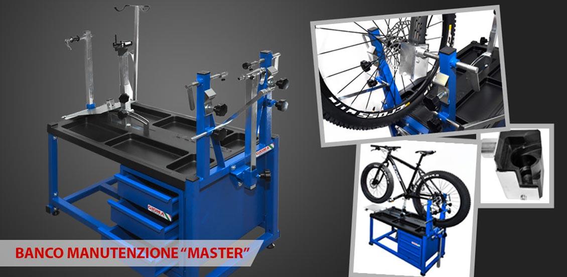 banco manutenzione biciclette gioma