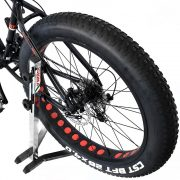 cavalletto bicicletta forcella posteriore 2