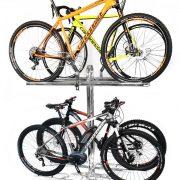 espositore 4 posti biciclette antifurto 2