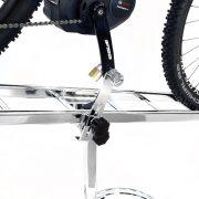 espositore biciclette 2 posti antifurto inclinabile