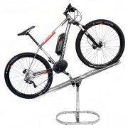 espositore bicicletta inclinabile antifurto