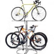 espositore biciclette 3 posti antifurto