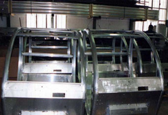 telai moto produzione scocche minicar
